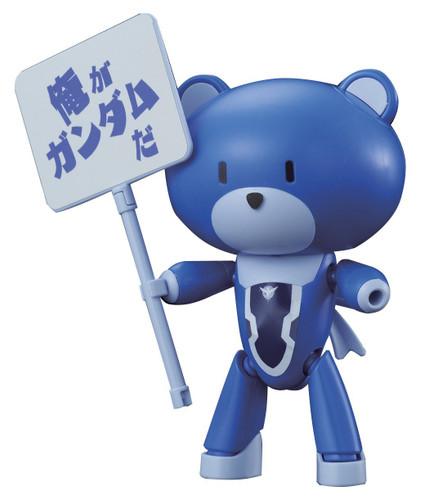 Bandai HG PETIT'GGUY 207009 SETSUNA F SEIEI BLUE & PLACARD 1/144 Scale Kit