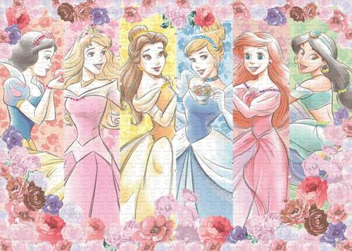 Epoch Jigsaw Puzzle 74-001 Disney Princess Flower Blossom (500 Pieces)