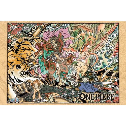 Ensky Jigsaw Puzzle 1000-575 One Piece Memory of Artwork Vol.1 (1000 Pieces)