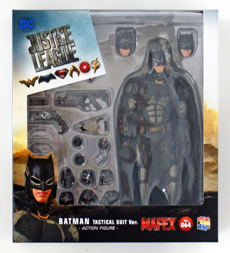 Medicom MAFEX 064 Batman Tactical Suit Ver. Figure (Justice League)