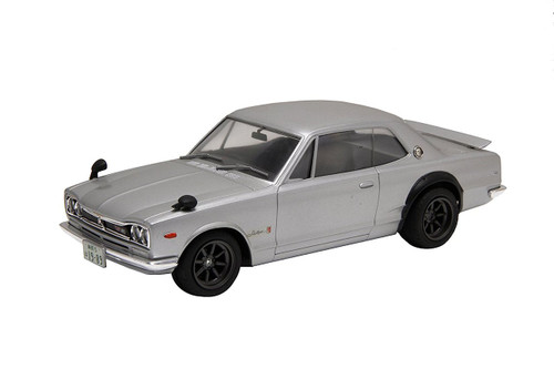 Fujimi ID-259 KPGC 10 Skyline GT-R 2 Door w/ '71 Car Name Plate 1/24