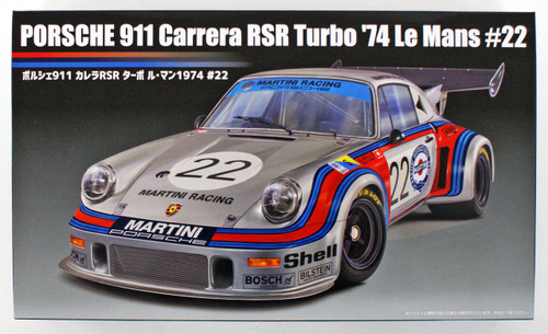 Fujimi RS-23 Porsche 911 Carrera RSR Turbo Le Mans 1974 #22 1/24 Scale kit