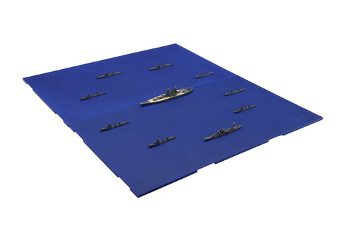 Fujimi Gunkan 08 401423 Operation Tenichigo The First Guerrilla Forces Set 1/3000 scale kit
