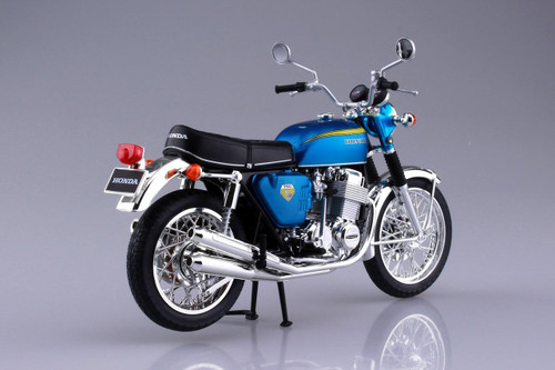Aoshima Skynet 04316 Honda CB750FOUR (K0) Candy Blue 1/12 Scale Finished Model