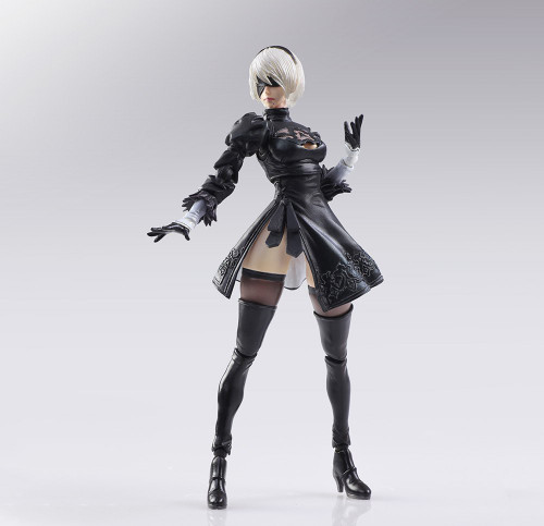 Square Enix Bring Arts NieR: Automata 2B & Machine Lifeform Set of 2 Figure