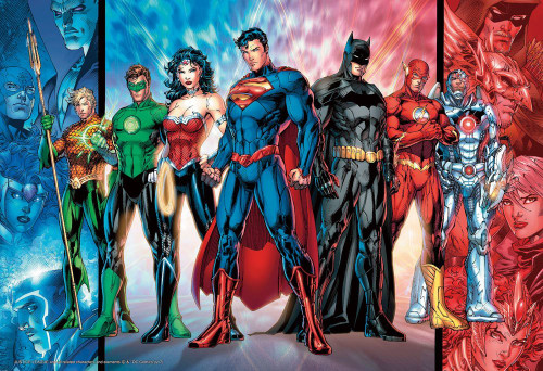 Beverly Jigsaw Puzzle 83-089 Justice League 300A (300 Pieces)