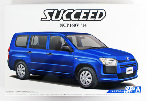 Aoshima 51443 The Model Car 66 Toyota NCP160V Succeed 2014 1/24 scale kit