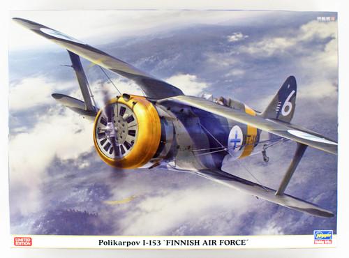 Hasegawa 07461 Polikarpov I-153 Finnish Air Force 1/48 scale kit