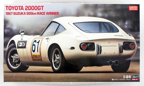 "Hasegawa 20327 Toyota 2000GT ""1967 Suzuka 500km Race"" Winner 1/24 scale kit"