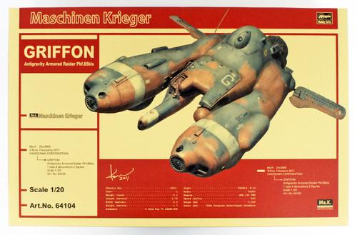 Hasegawa 64104 Maschinen Krieger Antigravity Armored Raider Pkf.85bis GRIFFON 1/20 scale kit