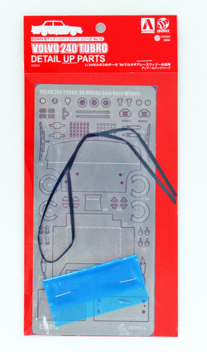 Aoshima 98288 Detail Up Parts for Volvo 240 Turbo '86 Macau Guia Race Winner 1/24 scale kit