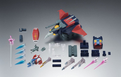 Bandai 128724 Robot Tamashii Gundam SIDE MS G Fighter ver. A.N.I.M.E. Figure
