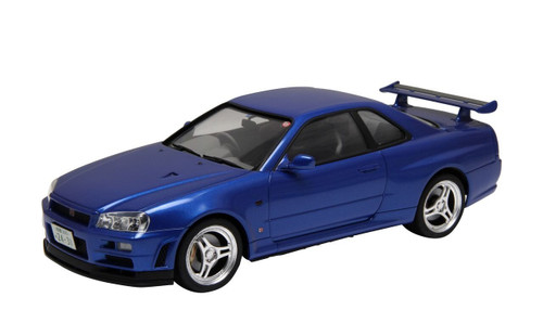 Fujimi ID-260 Skyline GT-R (R34) w/ Car Name Plate 1/24 scale kit