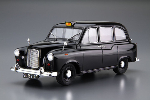 Aoshima 54871 The Model Car 68 FX-4 London Black Cab 1968 1/24 scale kit