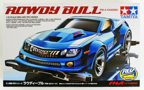 Tamiya 18707 Mini 4WD Rowdy Bull FM-A Chassis 1/32
