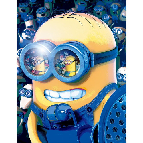 Yanoman Jigsaw Puzzle 42-51 Despicable Me Minions Style Dave (300 Small Pieces)