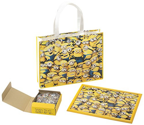 Yanoman Jigsaw Puzzle 03-865 Despicable Me Minions with Frame (300 Pieces)