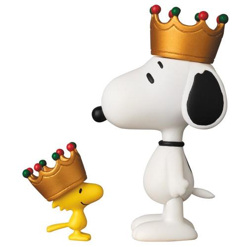 Medicom UDF-357 Ultra Detail Figure Peanuts Series 6 Crown Snoopy & Woodstock