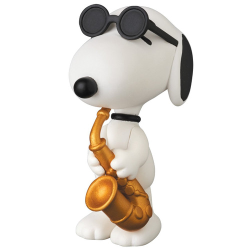 Medicom UDF-361 Ultra Detail Figure Peanuts Series 6 Saxophone Player Snoopy