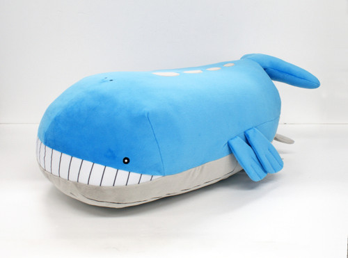 Pokemon Center Original Plush Doll Wailord (Whaloh) 1216-234458