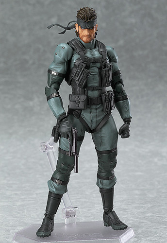 Max Factory figma 243 Solid Snake MSG2 ver. (METAL GEAR SOLID 2)