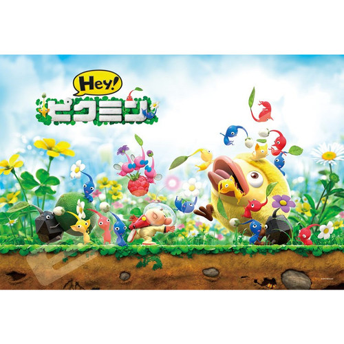 Ensky Jigsaw Puzzle 108-L597 Nintendo Hey! Pikmin (108 L-Pieces)