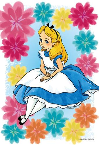 Yanoman Prism Art Jigsaw Petit Puzzle 97-170 KIRIART Disney Alice in Wonderland (70 Pieces)