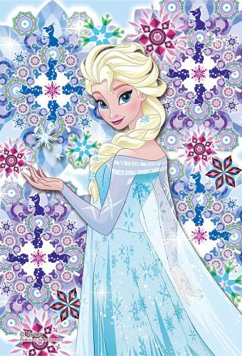Yanoman Prism Art Jigsaw Petit Puzzle 97-169 Disney Frozen Elsa (70 Pieces)