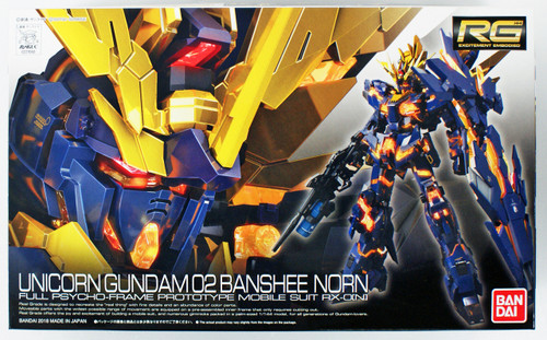 Bandai RG-27 Unicorn Gundam 02 Banshee Norn 1/144 Scale Kit 210603