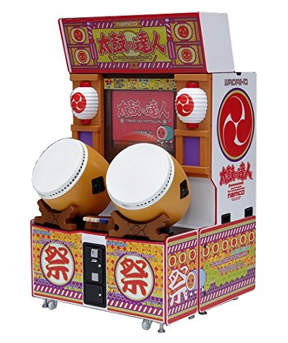 Wave GM018 Memorial Game Collection Taiko Drum Master Cabinet Arcade Machine 1/12 Scale Kit