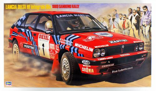 Hasegawa CR08 Lancia Delta HF Integrale 16V 1989 Sanremo Rally 1/24 scale kit