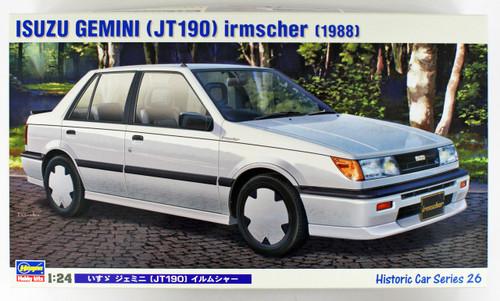 Hasegawa HC-26 Isuzu Gemini (JT190) Irmscher 1/24 scale kit