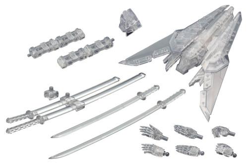 Kotobukiya MSG Modeling Support MW102 Weapon Unit Assorted 02 Sharp Set Clear Version