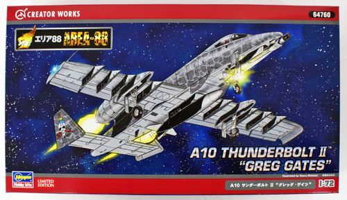 Hasegawa 64760 Area 88 A-10 Thunder Bolt 2 Greg Gates 1/72 scale kit