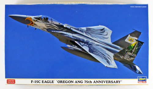 Hasegawa 02268 US Air Force F-15C Eagle Oregon ANG 75 Year Anniversary Special 1/72 scale kit