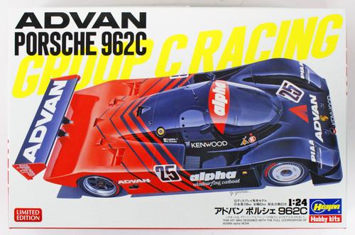Hasegawa 20329 Advan Porsche 962C 1/24 scale kit