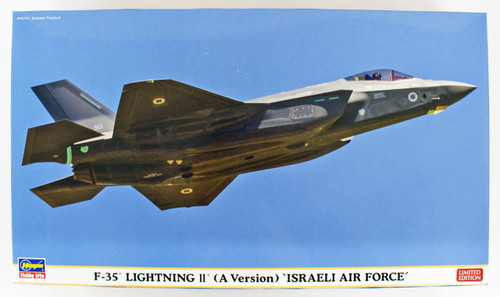 Hasegawa 02267 Israel Air Force F-35 Lightning 2 Type A 1/72 scale kit