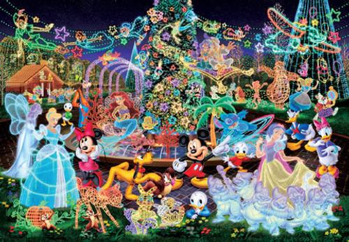 Tenyo Japan Jigsaw Puzzle DSG-500-388 Disney Magical Illumination (500 Pieces)