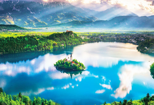 Beverly Jigsaw Puzzle 51-236 Lake Bled Slovenia (1000 Pieces)