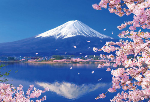 Beverly Jigsaw Puzzle 51-235 Japanese Scenery Mt.Fuji (1000 Pieces)