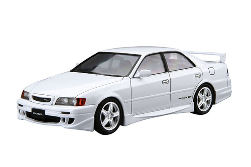 Aoshima 55250 Toyota TRD JZX100 Chaser 1998 1/24 scale kit