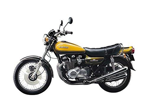 Aoshima 55311 Bike 56 Kawasaki 900 Super4 Z1w/ Custom Parts 1/12 scale kit