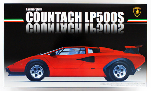 Fujimi RS-12 Lamborghini Countach LP500S 1/24 scale kit