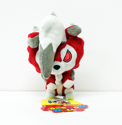 Pokemon Center Original Plush Doll Pokemon Dolls Lycanroc Midnight Form 11-232546