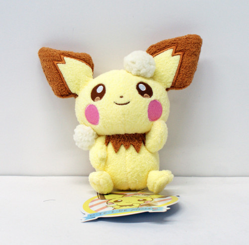 Pokemon Center Original Plush Doll OTEIRE Please Pichu 11-234489