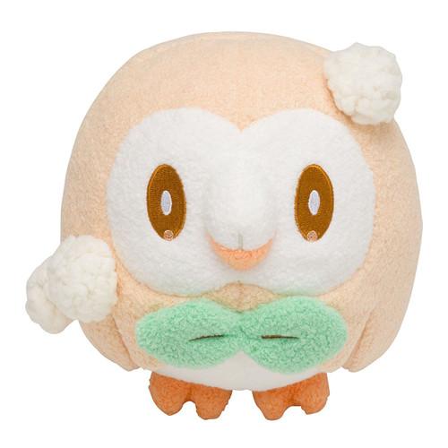 Pokemon Center Original Plush Doll OTEIRE Please Rowlet (Mokuroh) 11-234472