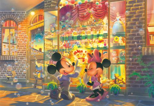 Tenyo Japan Jigsaw Puzzle DSG-500-423 Disney Mickey Minnie Toy Shop (500 Pieces)