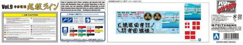 Aoshima 55595 Japanese Decoration Truck Extra Yoshida Unso Marumon Line 1/32 scale kit