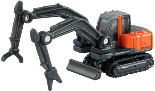 Takara Tomy Tomica 65 HITACHI DOUBLE ARM WORKING MACHINE ASTACO (333654)
