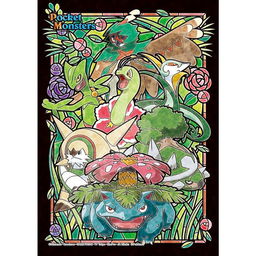 Ensky Art Crystal Jigsaw Puzzle 208-AC54 Pokemon Type Grass (208 Pieces)